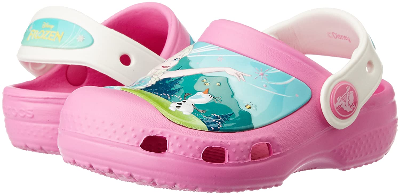 78a7cfd0db32 Crocs Girls  Cc Frozenfever Clogk Clogs  Amazon.co.uk  Shoes   Bags