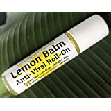 Urban ReLeaf Lemon Balm Cold Sore & Shingles ROLL-ON! Quickly Soothe Blisters, Chicken Pox, Bumps, Rashes, Bug Bites…