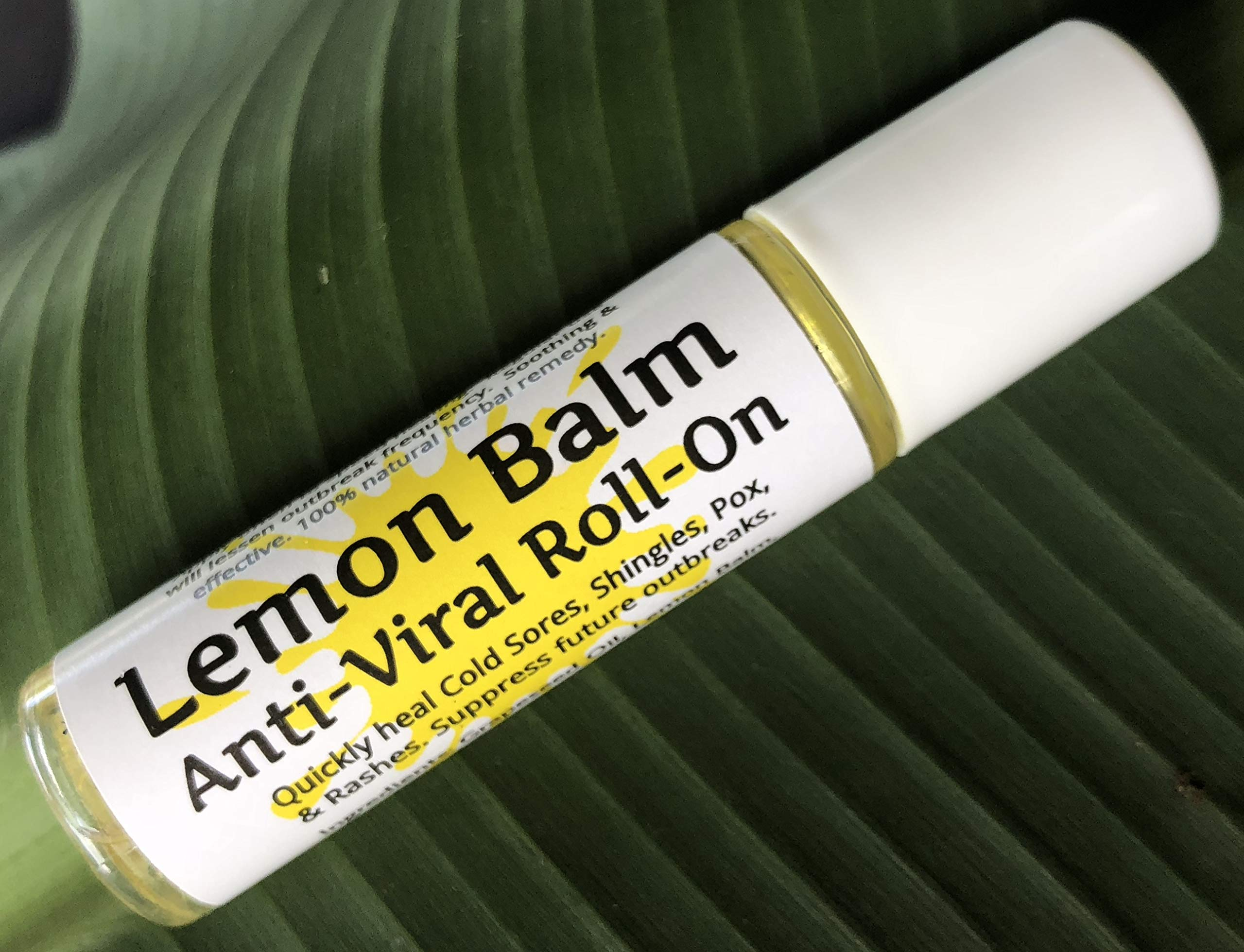 Urban ReLeaf Lemon Balm Cold Sore & Shingles ROLL-ON! Quickly Soothe Blisters, Chicken Pox, Bumps, Rashes, Molluscum, Bug Bites. Suppress Future outbreaks. 100% Natural.''Goodbye, Itchy red Bumps!'' by Urban ReLeaf