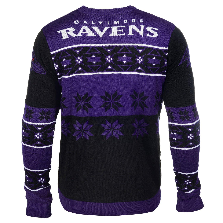 Amazon.com   FOCO NFL Unisex Big Logo Ugly Crew Neck Sweater   Sports    Outdoors beeb7c816