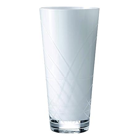 Royal Doulton 20 Cm Small Glass Viva Vase White Amazon