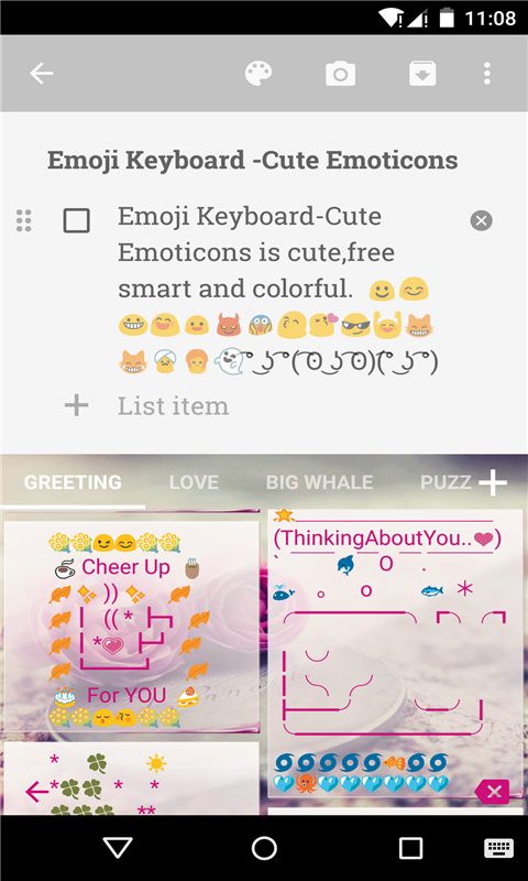 Amazon Emoji Keyboard Cuteemoticons Appstore For Android