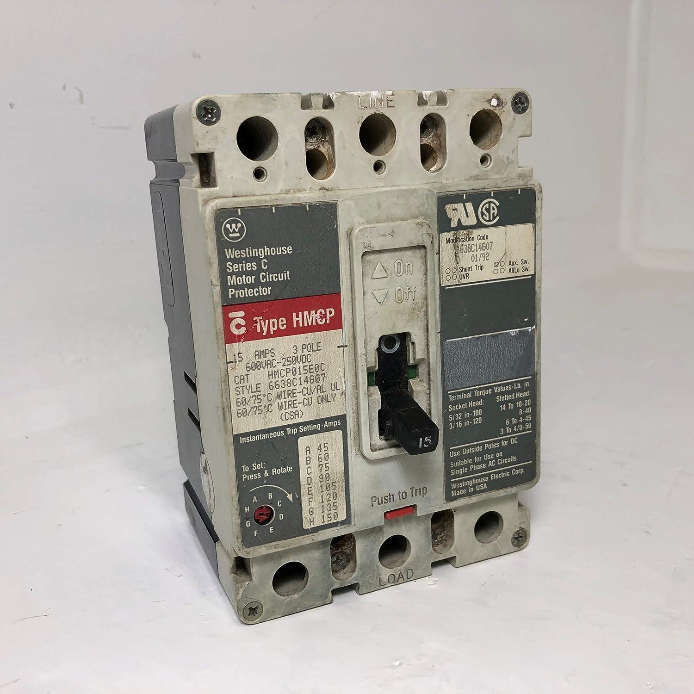Eaton New Surplus HMCP015E0 Cutler-Hammer HMCP015E0C