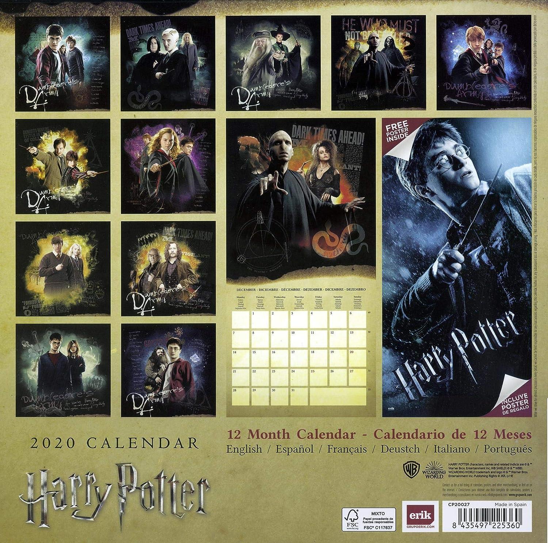 Harry Potter Calendario 2020: Amazon.es: Juguetes y juegos