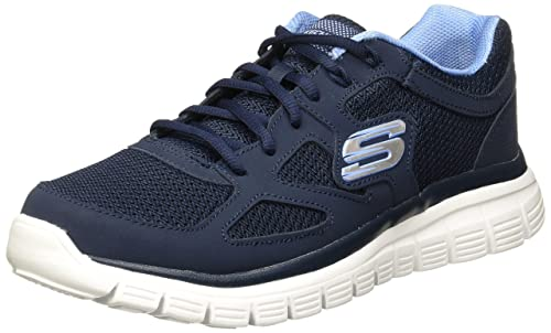 Skechers New MensGents Black Burns Agoura Lace Ups