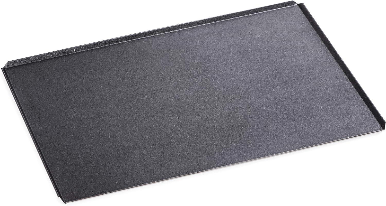 Professionale Focacce Verdure Ideale per Pane Silicon-Tech Teglia da Forno 60x40 Carne in Alluminio con Rivestimento Antiaderente HARDFOOD