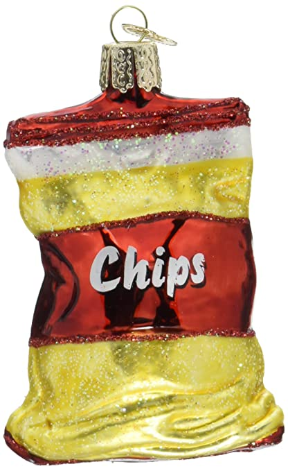 old world christmas ornaments bag of chips glass blown ornaments for christmas tree - Amazon Christmas Ornaments