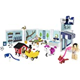 Amazon Com Roblox Celebrity Collection Adopt Me Lemonade Stand Game Pack Includes Exclusive Virtual Item Toys Games