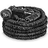 tillvex flexiSchlauch - flexibler Gartenschlauch 30m ausgedehnt, Testurteil GUT, Wasserschlauch flexibel, Gartenteichschlauch dehnbar
