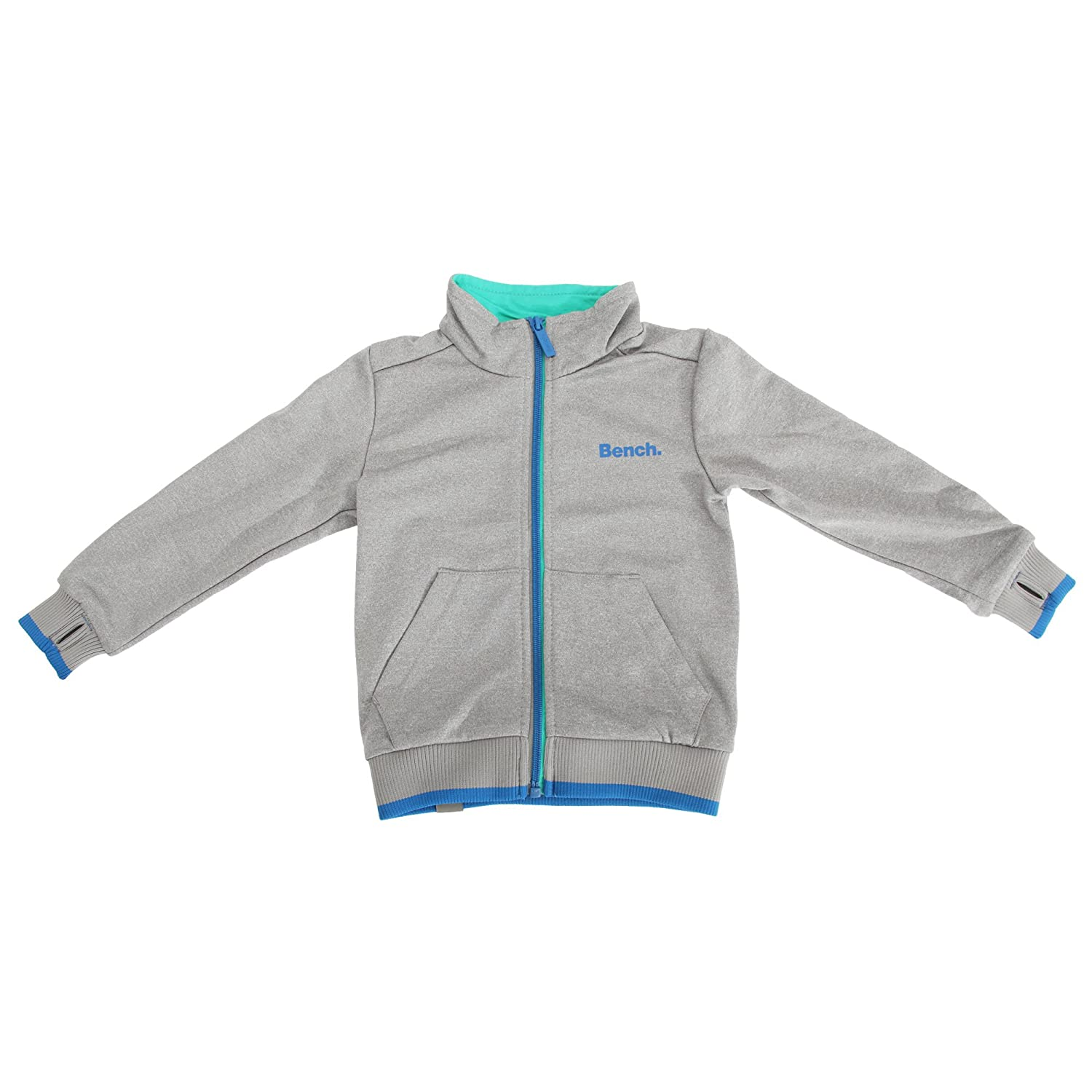 Bench Childrens/Boys Bottle Zip Up Jacket With Contrast Logo