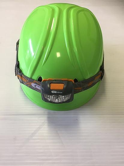 Climax – Profesionales de trabajo en altura casco de seguridad con cabeza lámpara