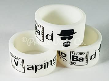 Vaping Bad Vape Band Ring Protection For Tank RTA RDA RBA diameter 18 to 25mm