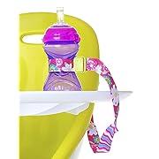 Nuby Keepeez Adjustable Bottle/Cup Strap, Pink