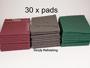 Red Scuff Pads 10//Box