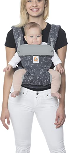Ergobaby Carrier, 360 All Carry Positions Baby Carrier, Trunks Up