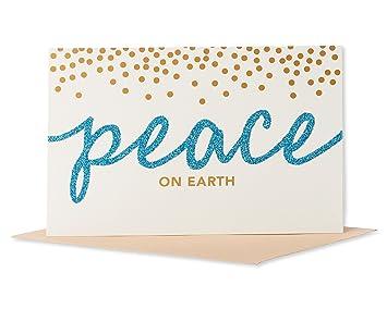 american greetings 5772316 peace on earth christmas boxed cards multicolor - Peace On Earth Christmas Cards