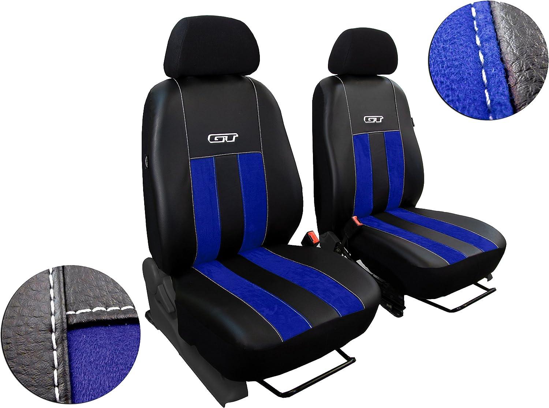 in Diesem Angebot Blau POK-TER-TUNING Vordersitzbez/üge Passend f/ür S-Max Design Alcantra GT mit Kunstleder