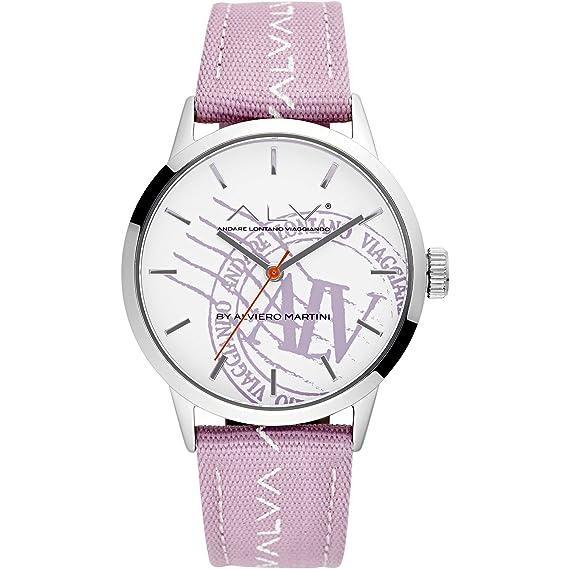 - ALV Alviero Martini - Reloj de mujer de estilo casual. Muestra solo la hora. Código artículo:ALV0051: Amazon.es: Relojes
