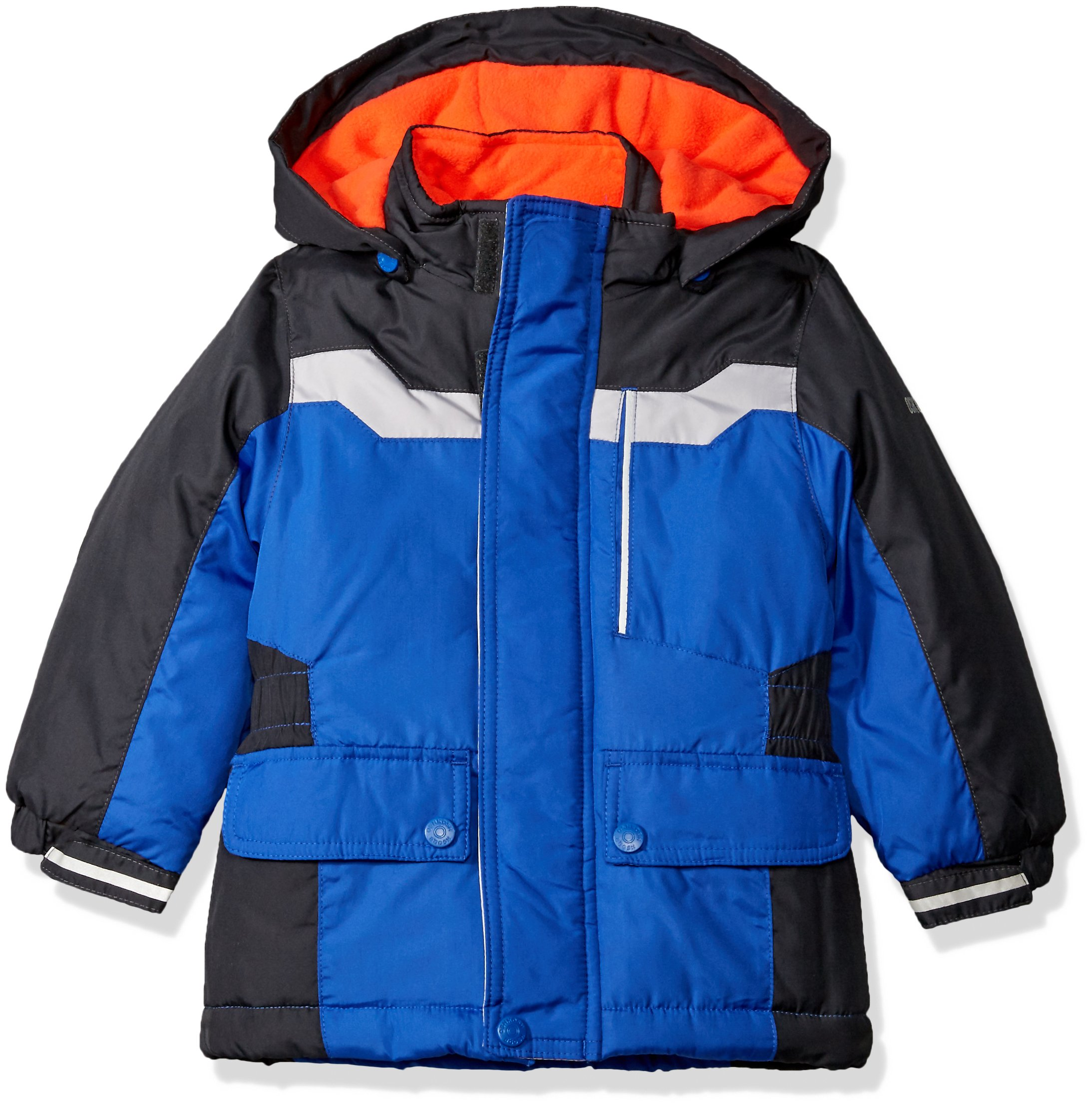 Osh Kosh Little Boys' Classic Heavyweight Active Parka, Blue, 7 by OshKosh B'Gosh