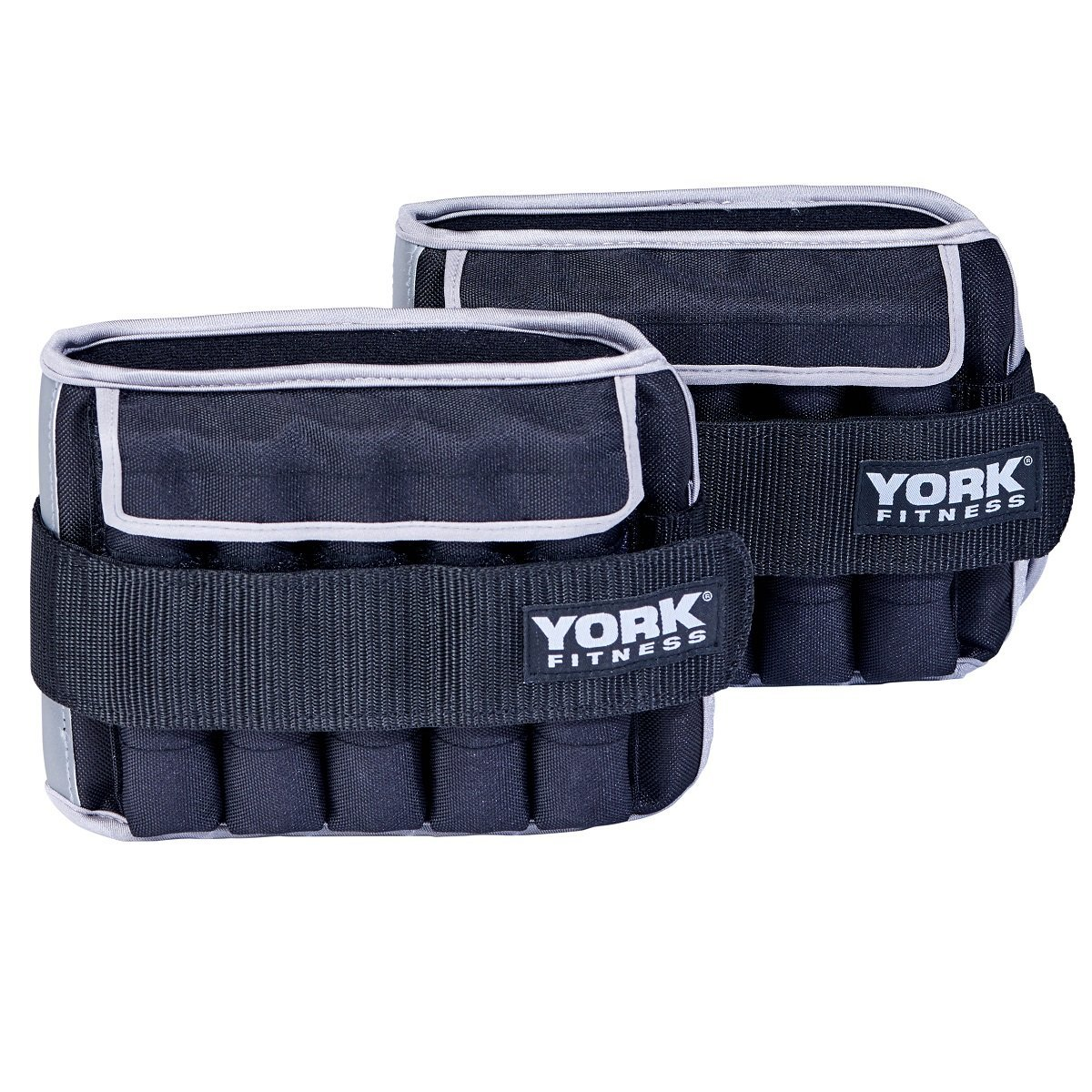 York Fitness 2 x 5kg Knöchelgewichte