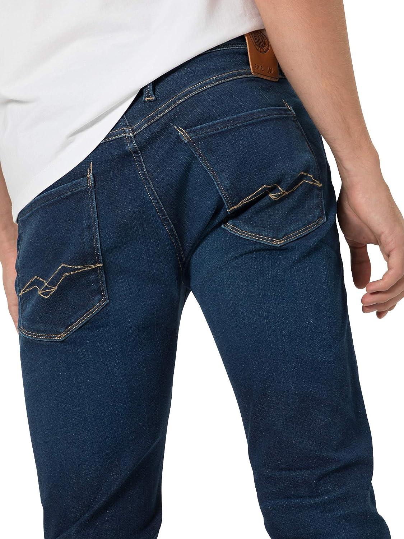Replay Anbass Hyperflex Stretch Dark Blue Slim Jeans