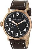 Stuhrling Original Men's 721.02 Octane Monterey L Analog Display Quartz Brown Watch