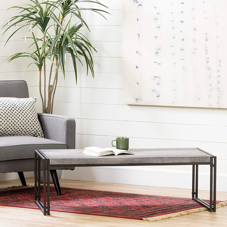 South Shore Furniture 12471 Gimetri Coffee Table Driftwood Gray Amazon Ca Home Kitchen