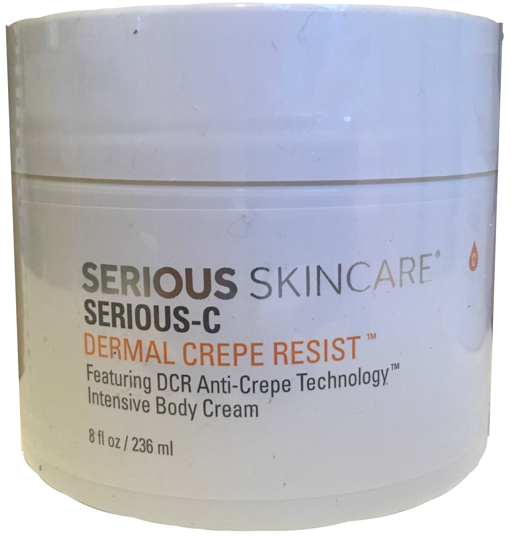 Serious Skincare Serious-C Dermal Crepe Resist 8 ounce Intensive Body Cream by Serious Skincare