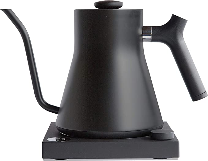 Fellow Stagg EKG+ Bluetooth Connected Electric Pour-Over Kettle For Coffee And Tea