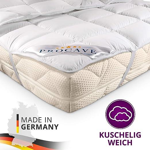 PROCAVE Micro Confort Protector colchón en Varios tamaños, Made in ...