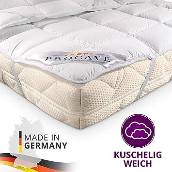 Procave Matratzen Schoner Micro Comfort In Verschiedenen Größen Matratzen Auflage 100 Aus Deutschland Unterbett Soft Matratzen Topper