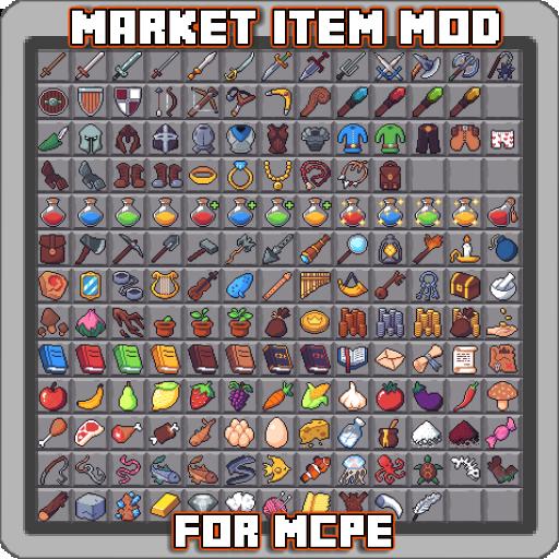 Market Item Mod for MCPE