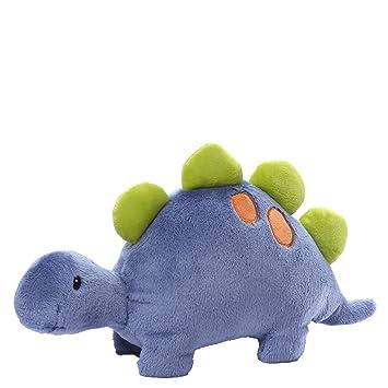 Amazon Com Baby Gund Orgh Dinosaur Stuffed Animal Plush Blue Baby