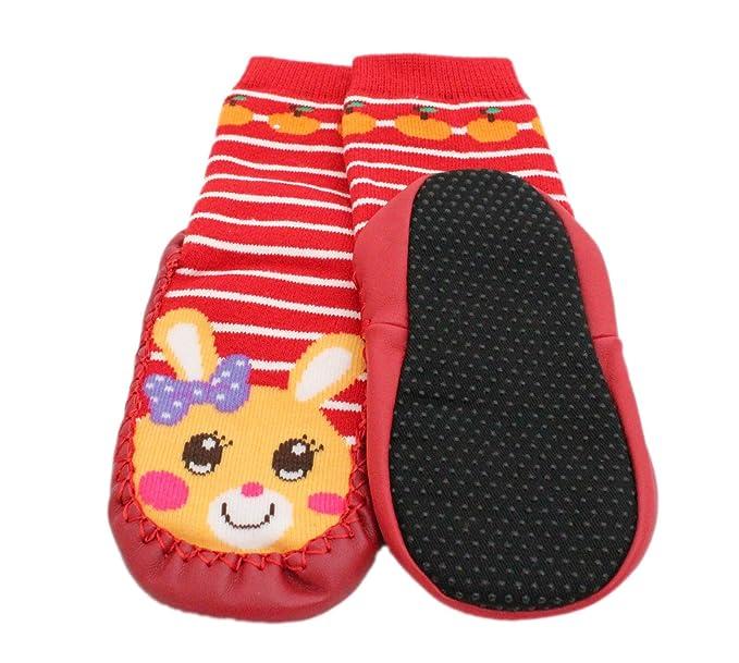 Calcetines antideslizantes para mocasines de bebé, de 1 a 2 años: Amazon.es: Ropa y accesorios