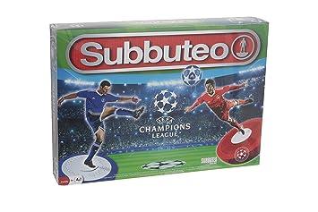 Giochi Preziosi - Subbuteo Edición Champions League, con 2 angulares, Accesorios y Campo de fútbol: Amazon.es: Juguetes y juegos