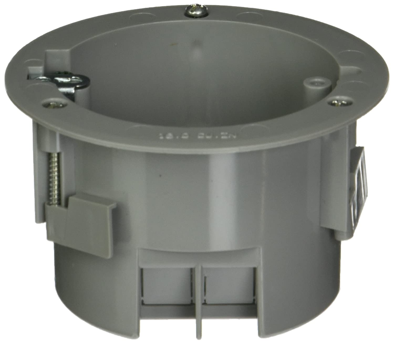 Hubbell-Raco 7922RAC Old Work Round 2-13/16-Inch Deep Non-Metallic ...