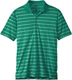 adidas Golf Men's Puremotion 2 Color Stripe Jersey Polo
