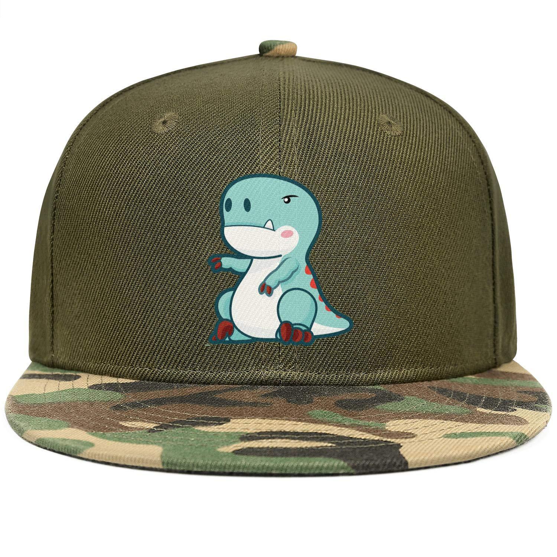 Dinosaur Technicolour Rex T-Rex Unisex Baseball Cap Two-Tone Stretch Sport Hats Adjustable Trucker Caps Dad-Hat
