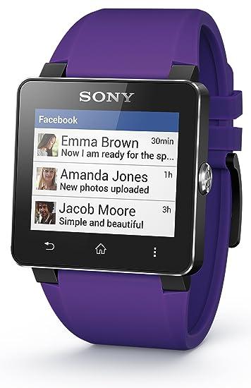 Sony SE20 - Correa para Sony Smartwatch 2, color lila: Sony ...