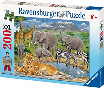 Animals in Africa XXL Jigsaw Puzzle