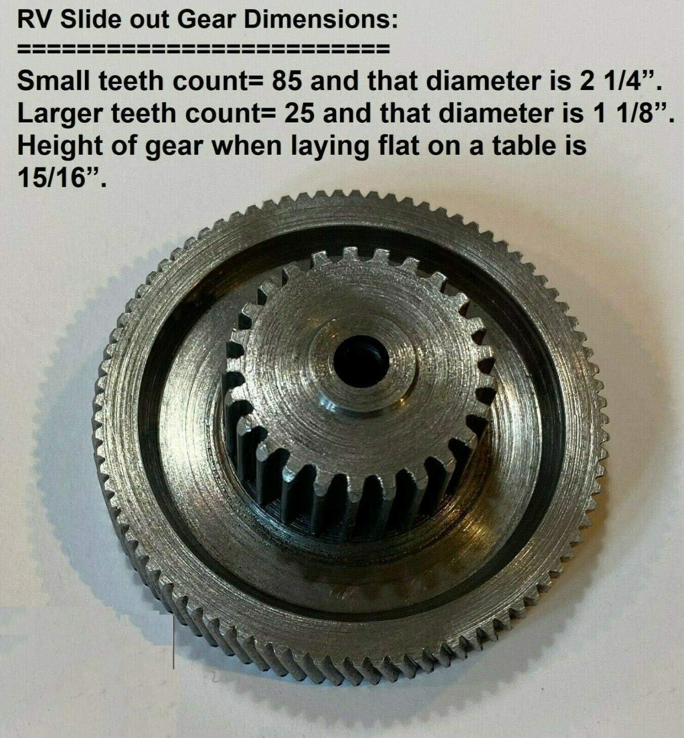 Lippert Components 191072 Venture Motor Replacement Gear Set