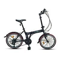 "ECOSMO 20"" Brand New Folding City Bicycle Bike 21SP - 20F03BL"
