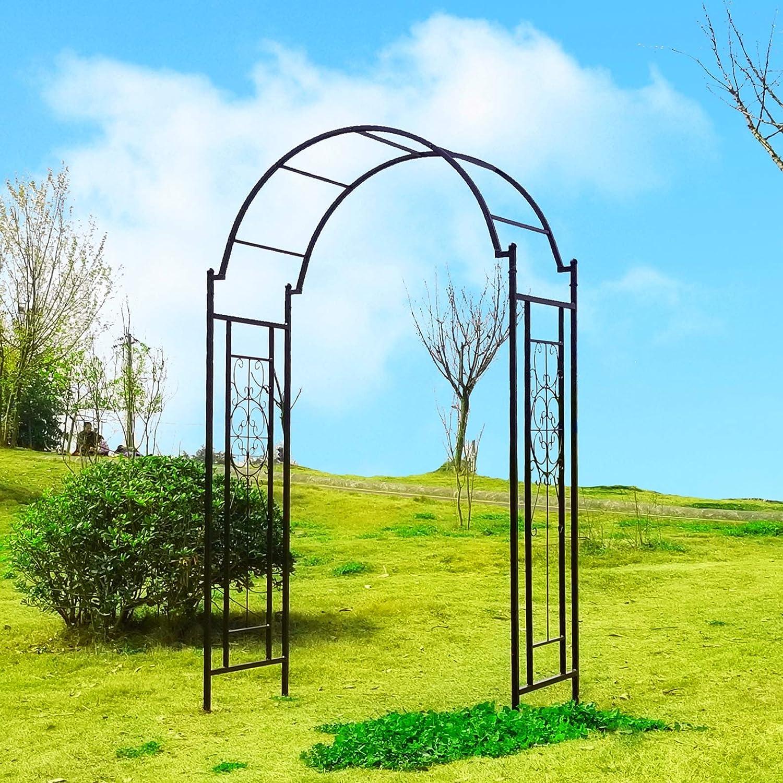 OUTOUR - Arco de Arco de jardín para Plantas trepadoras, Rosas ...