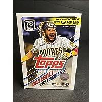 $49 » 2021 Topps Series 2 MLB Baseball BLASTER box (7 pks/bx)