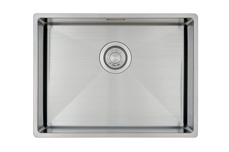 Évier de cuisine Copa Design 50-37 Affleurant / Sous plan - bassin carré / évier 50*37cm - 1 bassin - inox brossé COPA International BV L500370