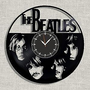 Beatles Vinyl Wall Clock 12