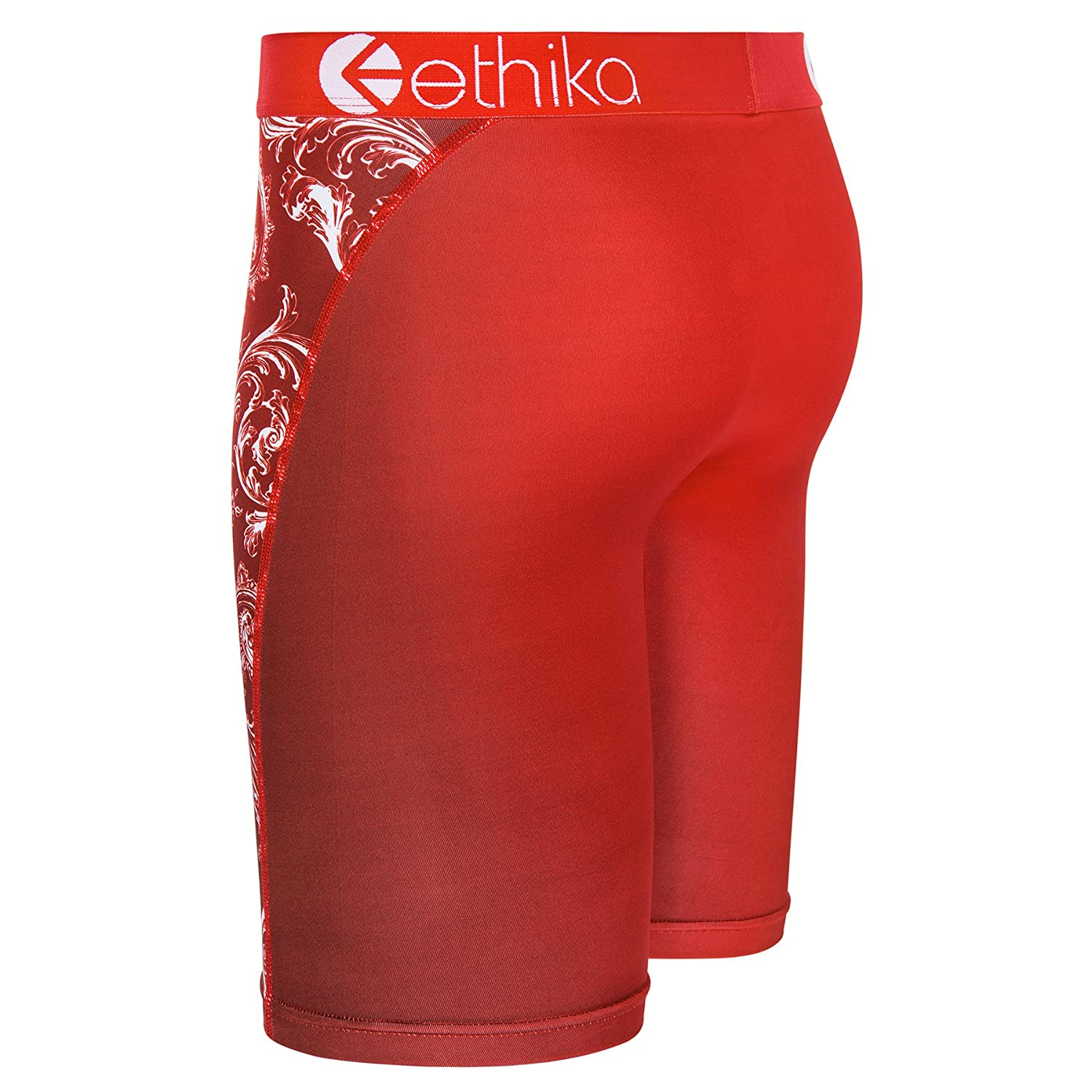 Ethika Mens Royal Red The Staple Fit Boxer Briefs Large