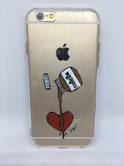 Phone Tattoo Coque Silicone Souple Iphone 6 ou 6s : Chocolat