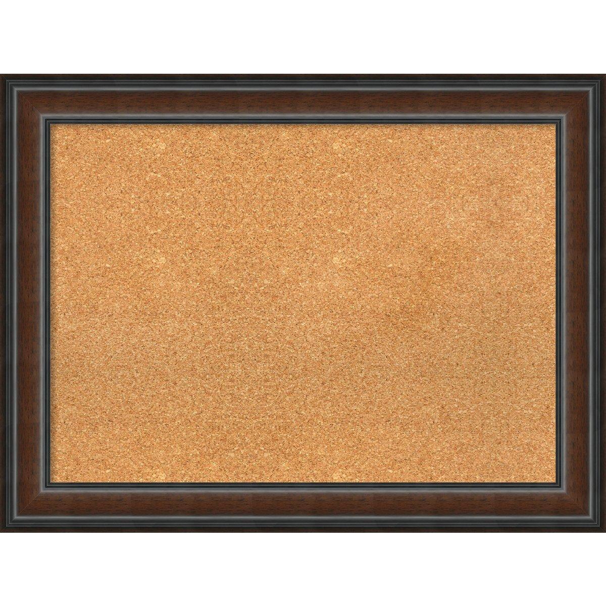 Amanti Art Korktafel Large - 33 x 25 Cyprus Walnut B075829386 | Clever und praktisch