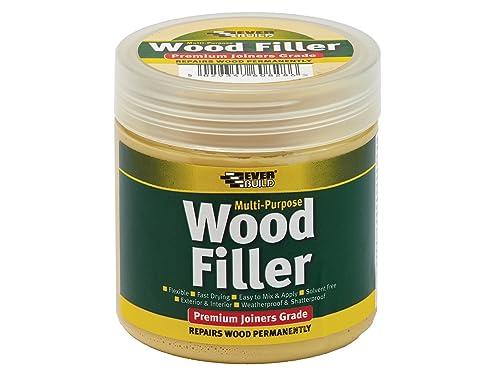 Multi purpose premium joiners grade wood filler - Filling small imperfections in wood - 250ml - Light Oak